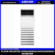 AIRCON APNQ36GR5A3/APUQ36GR5A3  (4HP) (FLOOR MOUNTED INVERTER) Limited Stock
