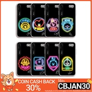 BTS BT21 Official Merchandise- Neon Graphic Light Up Phone Case for Apple iPhone