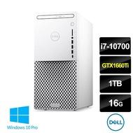 【+Google音箱】DELL 戴爾 XPS8940-P1768WTW i7八核桌上型電腦(i7-10700/16G/1TB/DRW/GTX1660Ti/W10P)