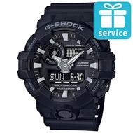 【CASIO】G-SHOCK 絕對強悍視覺搶眼運動雙顯錶(GA-700-1B)
