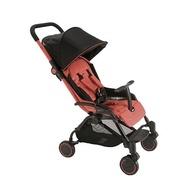 義大利 Pali - SEI.9 秒收可折疊站立嬰幼兒手推車-紅色-6.9kg