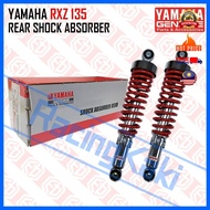 HLY 100% Original Yamaha RX-Z 135 RXZ135 RXZ Rear Absorber Motorcycle Motorsikal Monoschock Racing KYB Parts