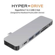 【HyperDrive】7-in-1 USB-C Hub-銀(HyperDrive)