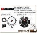 數位小兔【RL-ANOVA-V2-W PK樂透異類圓盤LED燈PRO KIT專業套組(附6折合頁片及高級攜帶鋁箱)】