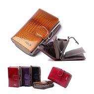 【玩皮工坊】真皮漆面牛皮8卡位女士皮夾錢夾中短夾女夾LH579(4色可選)