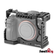 .. SmallRig 2087 Cage 鋁合金外框 for Sony A73 A7R3 A7M3 兔籠 錄影用支架 散熱 Arca-Swiss 公司貨 SMR2087B