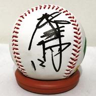 興農牛誠泰蛇-鄧蒔陽簽名球 簽於興農牛紀念logo球