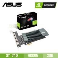 華碩 GT710-4H-SL-2GD5/Std:954Mhz/2GB DDR5/註冊四年保(長16.7公分)