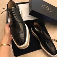 零碼特價 Prada鞋 牛津鞋  保證真品 男鞋 代購 PRADA