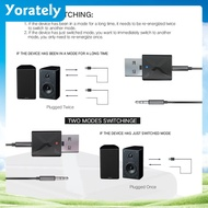 NEW USB interface Bluetooth 5.0 receiving transmitter 2-in-1 for car and TV ter