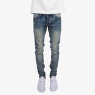 ASCE | mnml M34 彈性深藍色牛仔褲