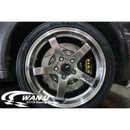 【萬有汽車輪胎鋁圈中心】ASGA A03 類ADVAN GT旋壓輕量化鋁圈鈦銀17、18吋