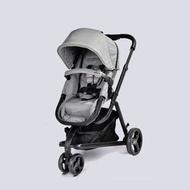 英國 unilove Touring多功能嬰兒推車 經典灰 加贈 MAXI-COSI 提籃【獨創睡床式座椅】【紫貝殼】