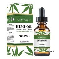 ECO Finest  Massage Oil Hemp Seed Oil Beauty