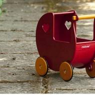 ※蜜桃舖※丹麥品牌moover嬰幼兒木質娃娃手推助步學步車