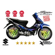 Shogun 125 Sticker Decal (thailand Thailook Suzuki Shogun 125 R (shogun Best 125)