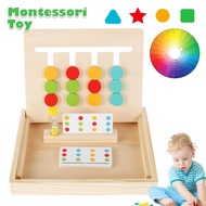 Wooden Puzzle Sorting Toy Preschool Puzzles Kids Wooden Puzzle Game Home Wooden Puzzle Kindergarten Wooden Puzzle