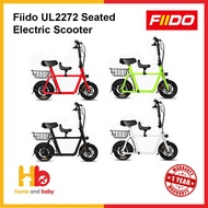 FIIDO UL2272 Seated Electric Scooter