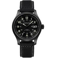 【HAMILTON 漢米爾頓】卡其野戰系列TITANIUM機械錶(H70575733)