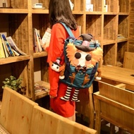 【預購】後背包 原創手作帆布雙肩包 手作背包 後背包 手作 雙肩包 背包 包 登山包 旅行包 書包 手工包 手作包 禮物