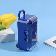 FunnyN Miniature PlasticTravelกระเป๋าเดินทางกล่องกระเป๋าเดินทางเฟอร์นิเจอร์อุปกรณ์ตุ๊กตาของเล่นเด็ก