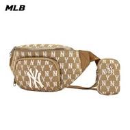 【MLB】腰包 子母包 Monogram老花系列 紐約洋基隊(3AHSM061N-50BGS)