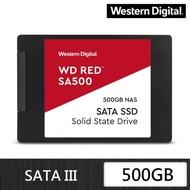 【WD 威騰】紅標 SA500_500GB SATA NAS固態硬碟(讀:560M/寫:530M)