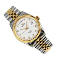 Orient SEV0J002WY EV0J002W Automatic Sapphire Two Tone Analog Watch