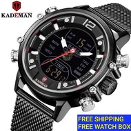 KADEMAN Luxury Mens Watch Waterproof  Sports Watch Men ORIGINAL Jam Tangan Lelaki K9071