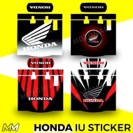 HONDA Motorcycle IU Sticker / IU Decal