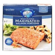 Copper River 冷凍調味野生阿拉斯加鮭魚排 1.02 公斤