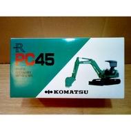 日本製 1/30 Komatsu 小松 PC45 怪手 挖土機