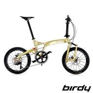 【Birdy】NewBirdyⅢ R 11SP 11速20吋公路車幾何前後避震折疊車-香檳金(鳥車)