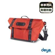 【deya】零侷限兩用斜背包-橘(耐磨防割)
