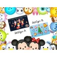 Christmas Disney Tsum Tsum Winnie the Pooh ezlink card