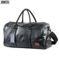 Johnn 20 นิ้ว Unisex กระเป๋าเดินทางกระเป๋าเดินทางความจุสูงมือถือกีฬากระเป๋าออกกำลังกายกระเป๋าเดินทางสุดสัปดาห์