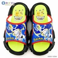 【童鞋城堡】戶外拖鞋 神奇寶貝寶可夢(PA1751-黑)