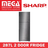 SHARP SJ-RX38E-SL 287L 2 DOOR FRIDGE / LOCAL WARRANTY