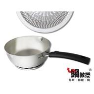 20cm 鍋教授 瓦斯 節能 18CM 20CM 22CM 單把鍋 小火鍋 雪平鍋 節能鍋 超快速導熱 3分鐘端上桌 省時間 瓦斯