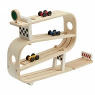 《  PLAN TOYS 》木製  360度翻轉軌道車 東喬精品百貨