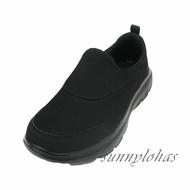 特賣↘SKECHERS(男)健走鞋GOWALK EVOLUTION ULTRA 休閒運動鞋 懶人鞋 54730BBK 黑 [陽光樂活]