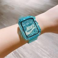 Original Glacier ใช้ Iwatch6สาย5-4-3รุ่นนาฬิกาแอปเปิ้ล Applewatch ซิลิก้าเจลเปลี่ยนสี