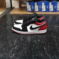 AIR JORDAN 1 LOW AJ1 AJ 喬丹 1代 低筒 黑頭 黑腳趾 黑白紅 553558-116