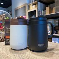 【沐湛咖啡】SADOMAIN 仙德曼 保溫咖啡濾掛杯 316不鏽鋼辦公杯 咖啡杯 保冰杯 保溫杯 480ml 黑/白