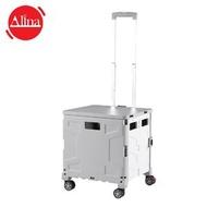 Alina - 摺疊式購物車 - 灰色 (大號) (PTT004LK)