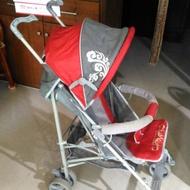 紅色 時尚 租借 嬰兒車 娃娃車 出國 旅遊 輕便 傘車 散車 出租