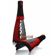 ::bonJOIE:: 美國進口 Microplane 粗細兩用刨刀 (紅色) 研磨器 刨刀 刨絲器 乳酪