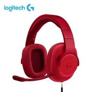 羅技 G433 7.1聲道有線遊戲耳機麥克風- 競艷之聲火焰紅