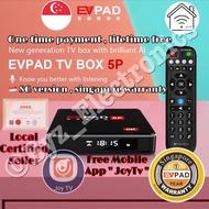 ⭐️ SG EVPAD TV Box, Certified Singapore Dealer  EVPAD 5S / EVPAD 5P /  , 6k , No Subscription Tv box .