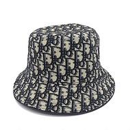 DIOR 新款雙面DIOR雙面花色漁夫帽 (藍色/58)(L號)